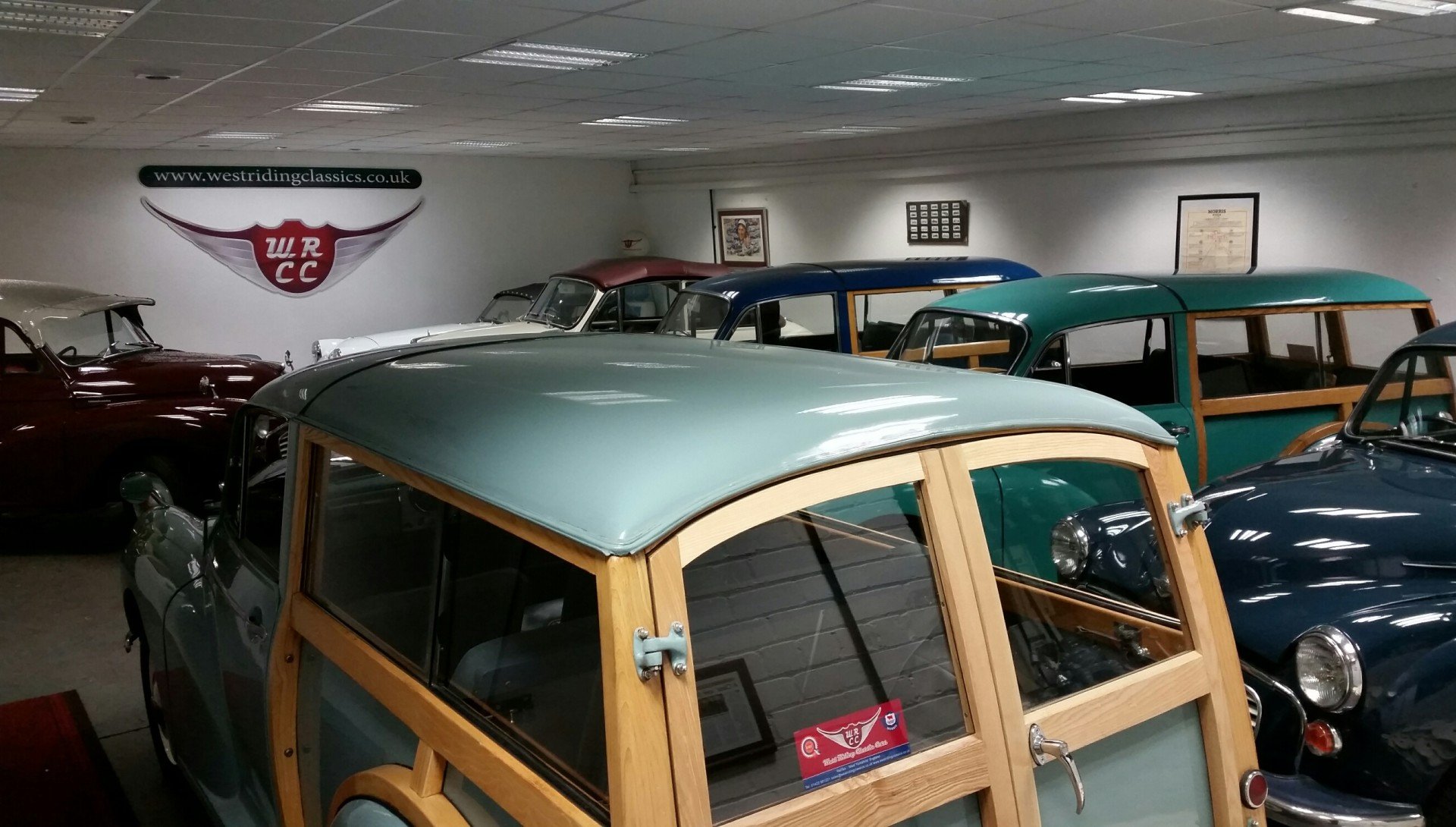 West Riding Classic Cars New Showroom