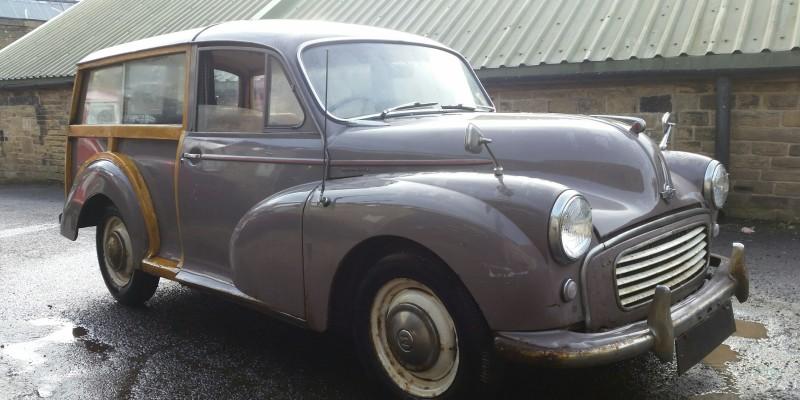 """1960 Morris Minor Traveller """"Full build"""""""