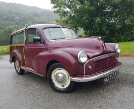 1954 MK2 Morris Minor Traveller **full build deposit secures**