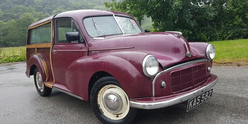 1954 MK2 Morris Minor Traveller **full build deposit secures**