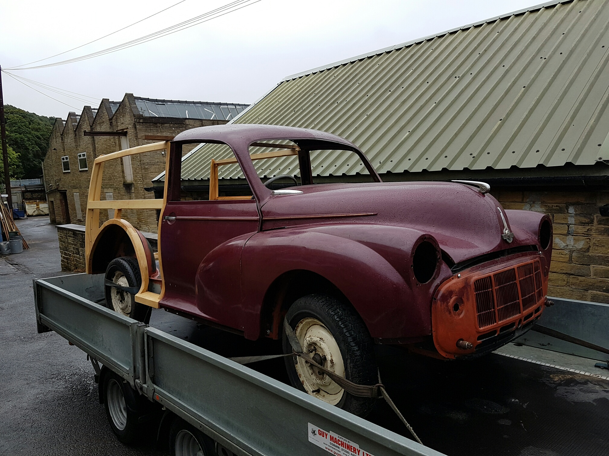 Morris minor traveller for sale - Back From Weld Back From Weld New Wood