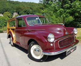 "1955 ""Split screen"" Morris Minor Traveller"