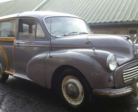 "1960 Morris Minor Traveller ""Full build"""