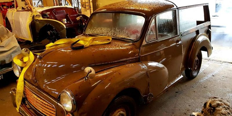 "1968 Morris Minor Traveller ""Full build"""