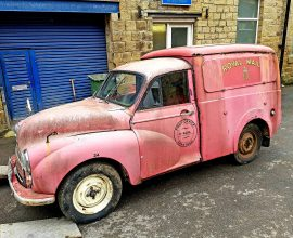 1965 Morris Minor Post office van