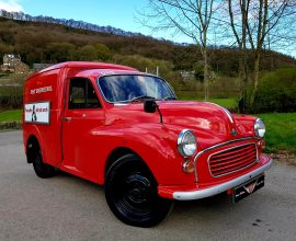 1970 Morris Minor Royal Mail van