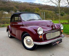 1965 Morris Minor convertible
